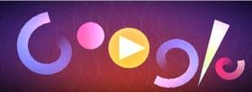 Con su doodle, Google invita a sus usuarios a realizar una composición musical visual al mejor estilo Fischinger