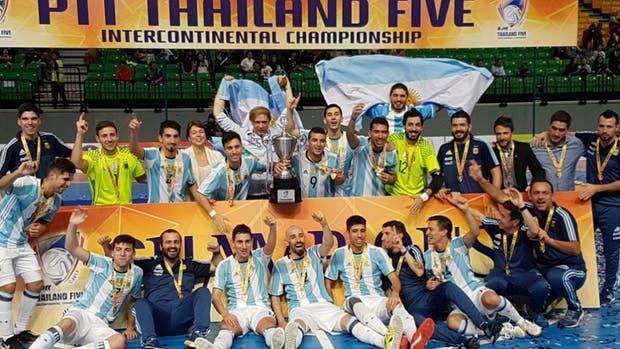 Argentina campeón de la Copa Intercontinental