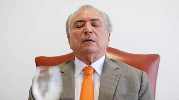 El presidente brasileño Michel Temer