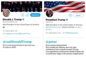 Tuits de Trump