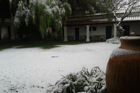 Cachi, tras la nevada de anoche