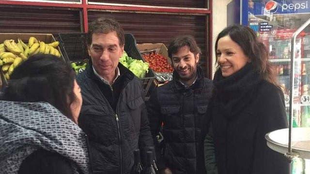 Santilli, Salvai y Stanley también participaron del timbreo