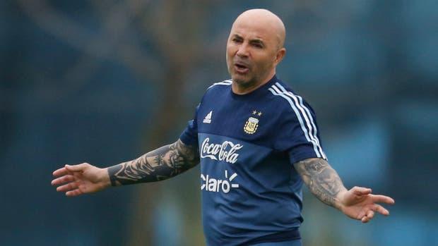 Sampaoli hizo hincapié en la preparación futbolística para que la Argentina mejore, sin esperar que los puntos llegaran desde los escritorios del TAS