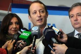El intendente bonaerense Martín Insaurralde