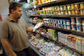 El litro de leche en la Argentina cuesta entre $ 8,50 y $ 10,50