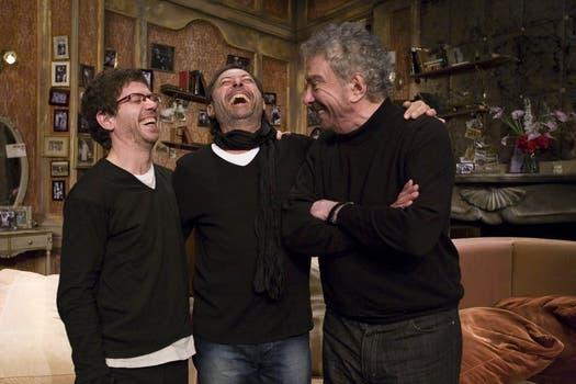 En 2010, subió a escena con Guillermo Francella y Peto Menahem para hacer Los reyes de la risa. Foto: Archivo