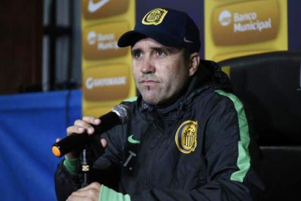 Eduardo Coudet y la falta de jugadores de Rosario Central