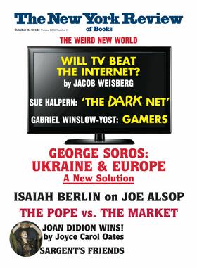 La portada de un número reciente de la NYRB