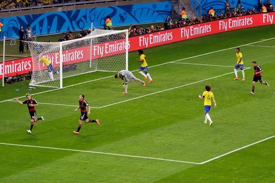 La goleada histórica de Alemania. Foto: AP