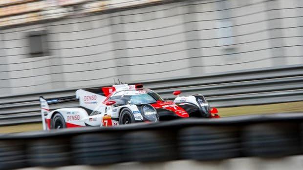 El Toyota finalizó cuarto en Shanghai