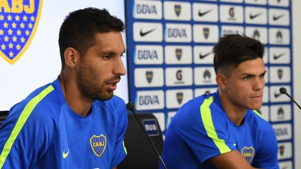 Insaurralde y Silva fueron sancionados por Boca
