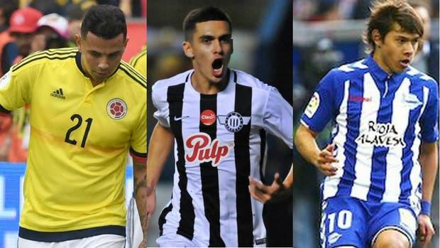 Cardona, Medina y Romero, en el radar de Boca