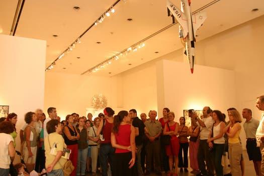 Recibió la distinción como mejor artista del año y mejor muestra de 2004. Foto: Archivo