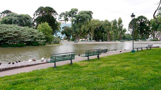 Parque Centenario, uno de los elegidos para entrenar y para el relax
