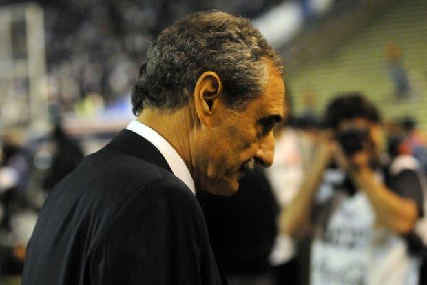 En el choque ante Godoy Cruz mostró su enojo por el tanto anulado a Funes Mori.  Foto:FotoBAIRES