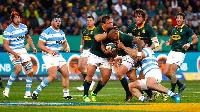 Los Pumas cayeron 37-15 ante los Springboks en el inicio del Rugby Championship 2017