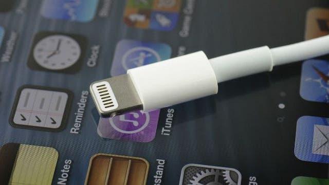 Este es el conector Lightning que utiliza Apple