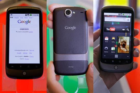 HTC también estuvo encargado de la fabricación del Nexus One, uno de los teléfonos con el sello de Google
