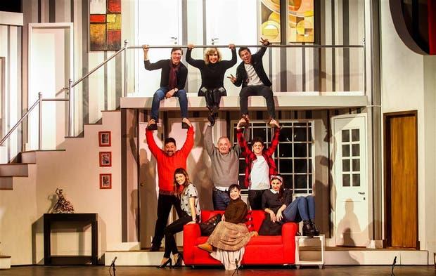 Un elenco compuesto por primeros actores especializados en comedia