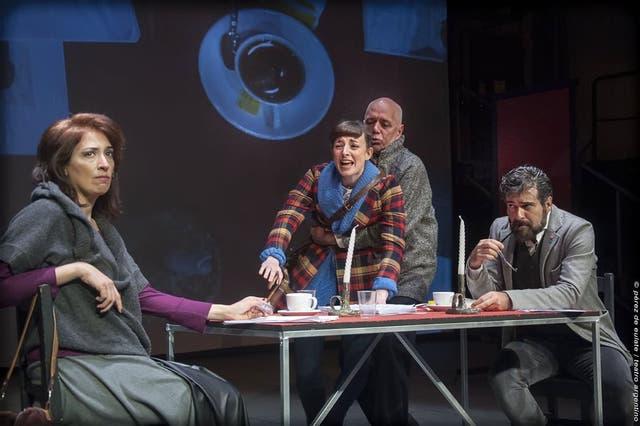 Garrote, Brihet, Suárez y Spregelburd