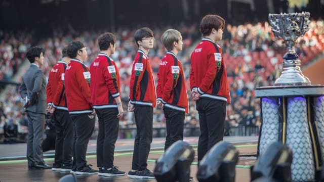El otro equipo finalista de la final de League Of Legends, SKT T1