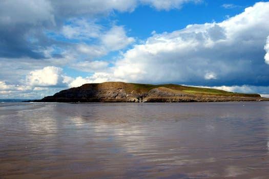 10. Rhossili Bay, Rhossili, Swansea - Gales, Gran Bretaña.