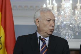 García Margallo se mostró interesado en arribar a una solución por al expropiación de YPF