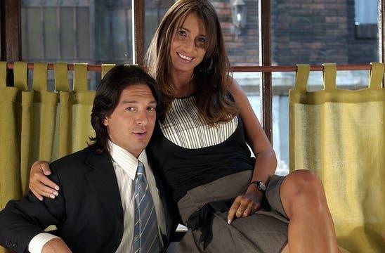 Con Damián De Santo protagonizó Bella y Bestia y Amor Mío. Foto: Archivo
