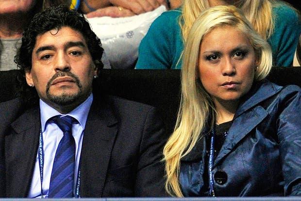 Maradona y Ojeda, en mejores tiempos