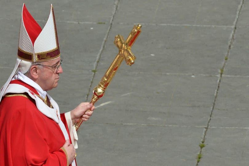 """El Sumo Pontífice hizo un llamado a """"vencer el mal que hay en nosotros y en el mundo"""". Foto: AFP"""