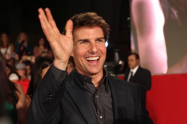 Tom Cruise en Argentina, en la alfombra roja de Oblivion: el tiempo del olvido