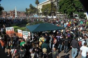 Miles de personas marcharon en favor de la legalización de la marihuana