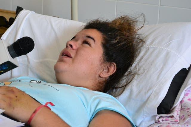 Liliana Alfonso, la mamá de Evangelina, la chiquita de 2 años cuyo corazón recibió Renzo