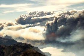 Alarma en Chubut por un voraz incendio