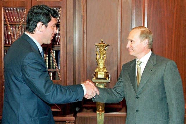 4 de julio del año 2000: Boris Nemtsov y Vladimir Putin, en el Kremlin