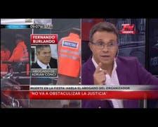 Habla Fernando Burlando sobre la organización de la fiesta electrónica