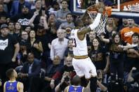 Cleveland-Golden State: los Cavaliers volvieron a ganar y el campeón de la NBA se define el domingo