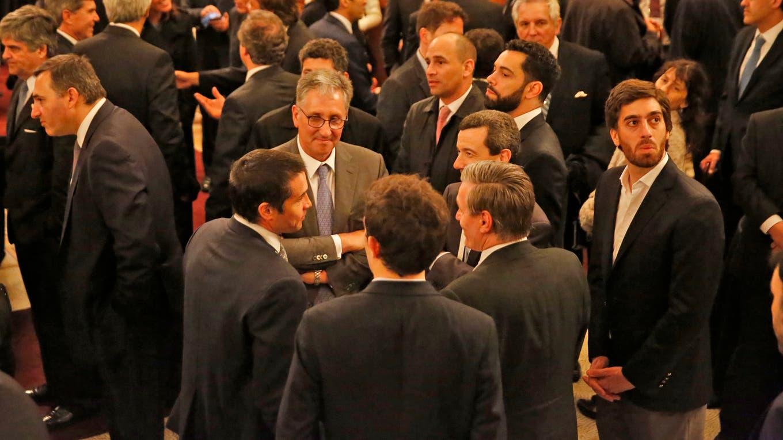 La ceremonia reunió a empresarios, funcionarios y CEOs. Foto: LA NACION / Fabián Marelli