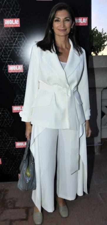 Mariana Arias siempre elegante y sofisticada, dijo presente para celebrar el lanzamiento de nuestro especial de moda. Foto: /Gerardo Viercovich