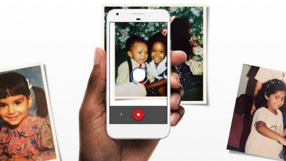 Cómo digitalizar viejas fotos impresas con la cámara de un celular y Google Photoscan