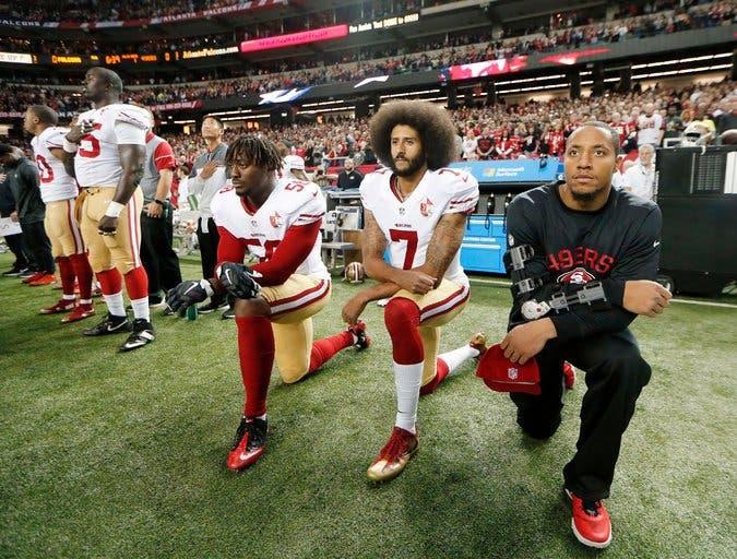 Así es el reclamo de los jugadores de la NFL foto: AP