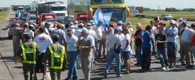 Productores realizan cortes de 15 minutos rotativos en Rosario