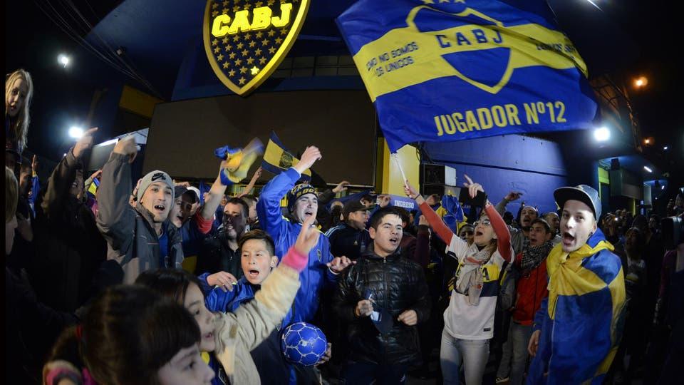 Hoy Boca enfrentará a Olimpo en Bahía Blanca co el título de campeón. Foto: DyN