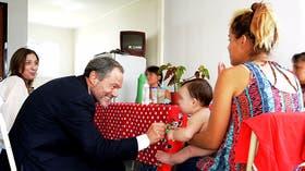 Vidal y Ferrari inauguraron el miércoles las casitas en el penal de Varela