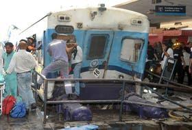 El 22 de febrero del año pasado, un tren del Sarmiento chocó contra el paragolpes de la estación de Once