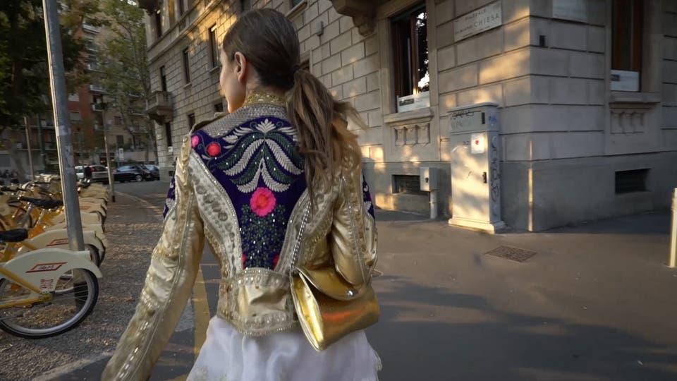 Por las calles de Milán, anticipo de las tendencias Otoño - Invierno