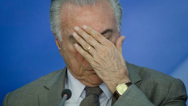 Denuncian Michel Temer por corrupción ante la Corte Suprema de Brasil