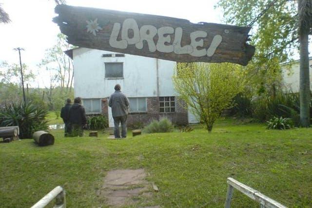 Lorelei, una de las casas de Walsh en el Tigre