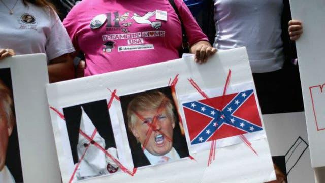 Son muchos los sectores críticos contra Trump, lo que dificultará su camino a la Casa Blanca