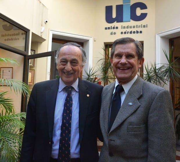 Acevedo y Gerardo Seidel, titular de la Unión Industrial de Córdoba